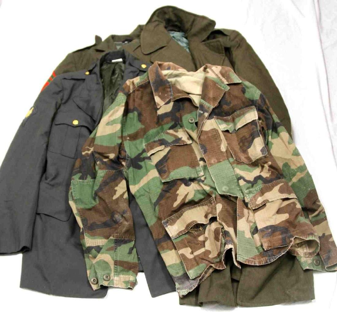 US MILITARY MULTI TIME PERIOD & BRANCH UNIFORM LOT - 3
