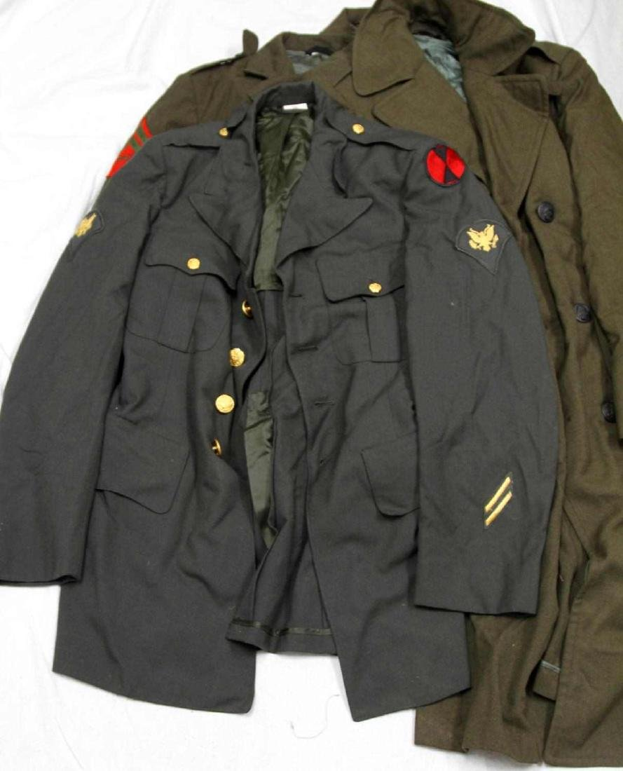 US MILITARY MULTI TIME PERIOD & BRANCH UNIFORM LOT - 4