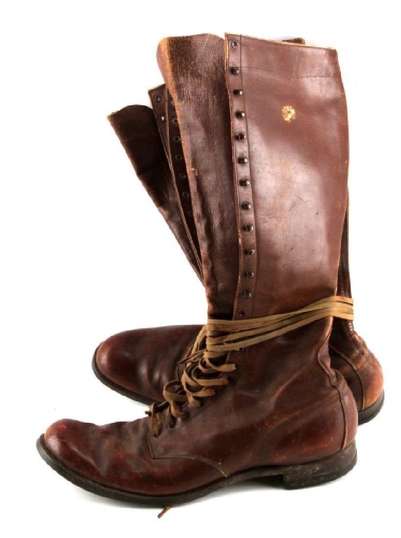 WWII PETERS US ARMY CAVALRY OFFICER RIDING BOOTS