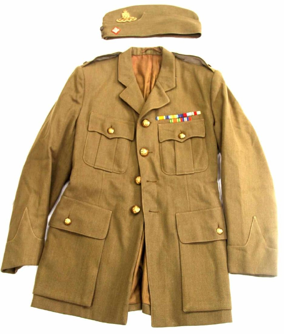 WWII BRITISH ARMY ROYAL ARTILLERY MAJOR UNIFORM