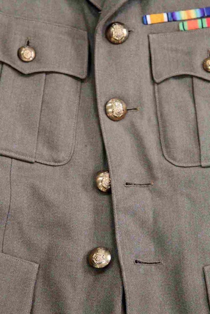WWII BRITISH ARMY ROYAL ARTILLERY MAJOR UNIFORM - 2