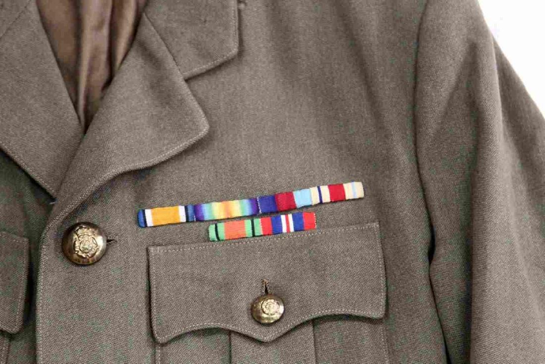 WWII BRITISH ARMY ROYAL ARTILLERY MAJOR UNIFORM - 3