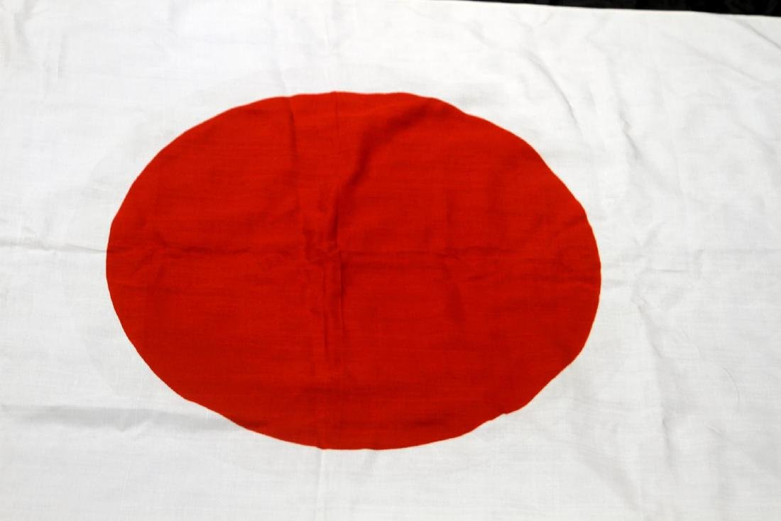 WWII IMPERIAL JAPANESE RISING SUN MEATBALL FLAG - 2