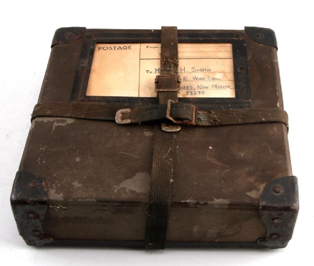 US WWII MAIL CARRIER HARD BOX