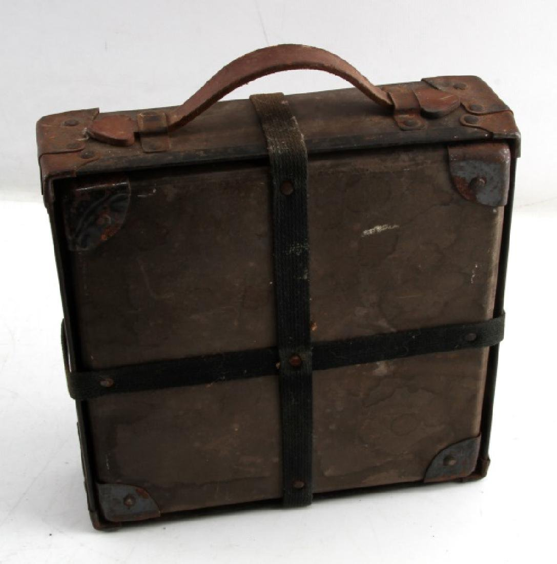 US WWII MAIL CARRIER HARD BOX - 3