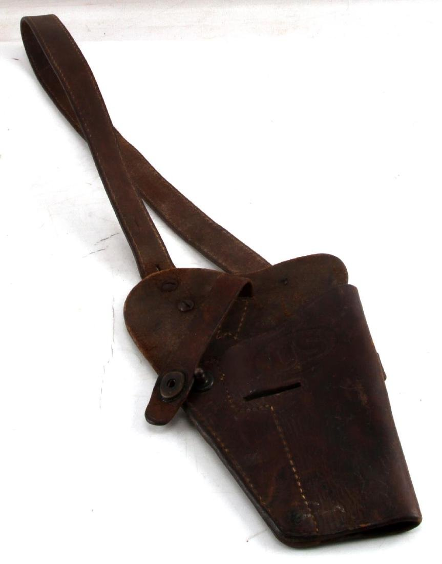 WWII ARMY COLT 1911 BOYT 43 SHOULDER HOLSTER