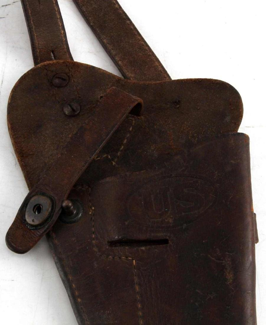 WWII ARMY COLT 1911 BOYT 43 SHOULDER HOLSTER - 2
