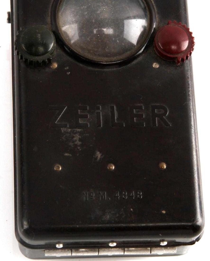 WWII GERMAN ZEILER FIELD FLASHLIGHT - 2