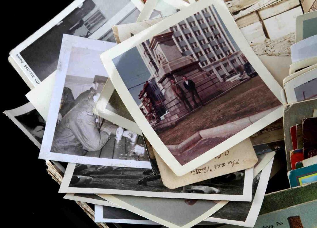 HUGE WWII U.S MILITARY PHOTOGRAPH & POSTCARD LOT - 2