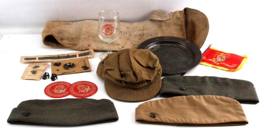 WWII EARLY COLD WAR US MARINE CORPS ITEM LOT