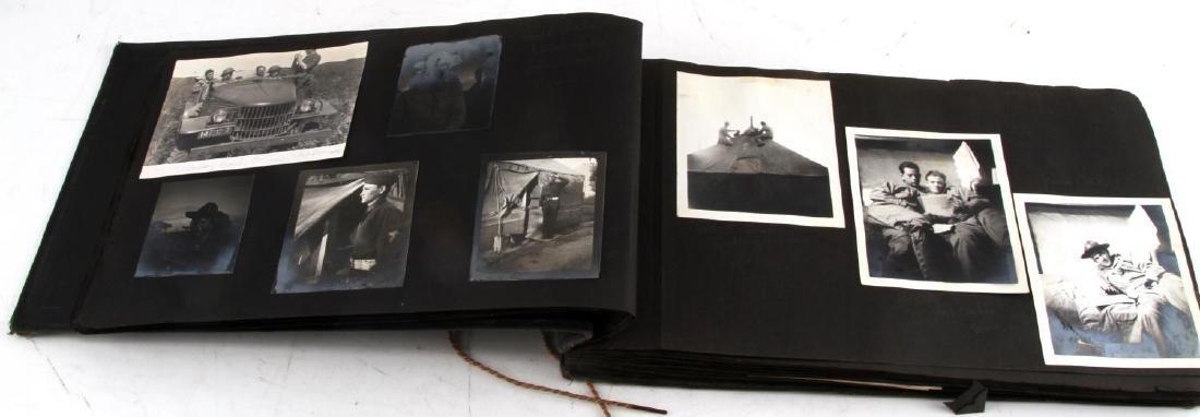 ANTIQUE US ARMY SNAPSHOTS PHOTO SCRAPBOOK - 4