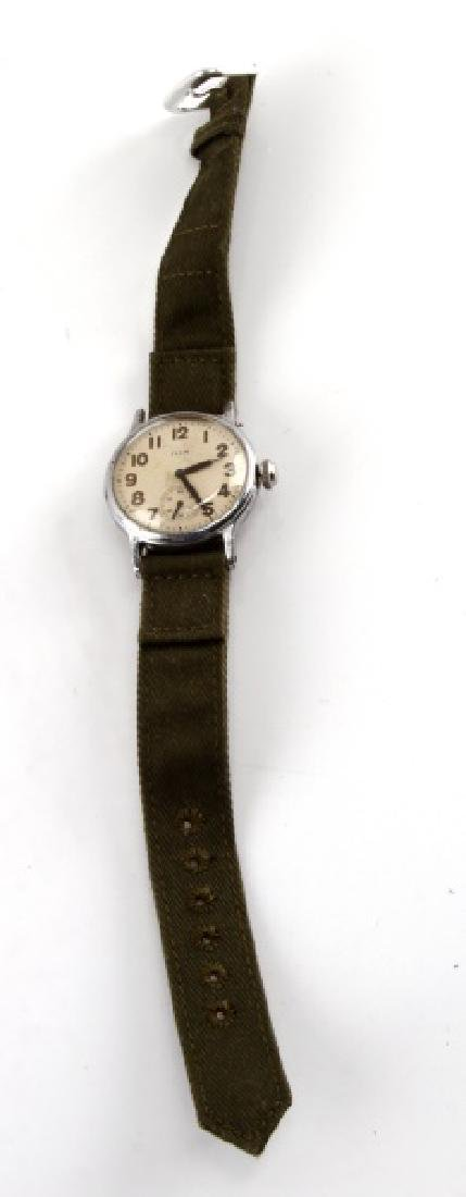 WWII ELGIN 580 U.S. ARMY WRISTWATCH