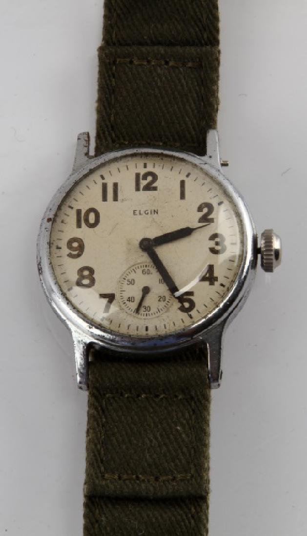 WWII ELGIN 580 U.S. ARMY WRISTWATCH - 2