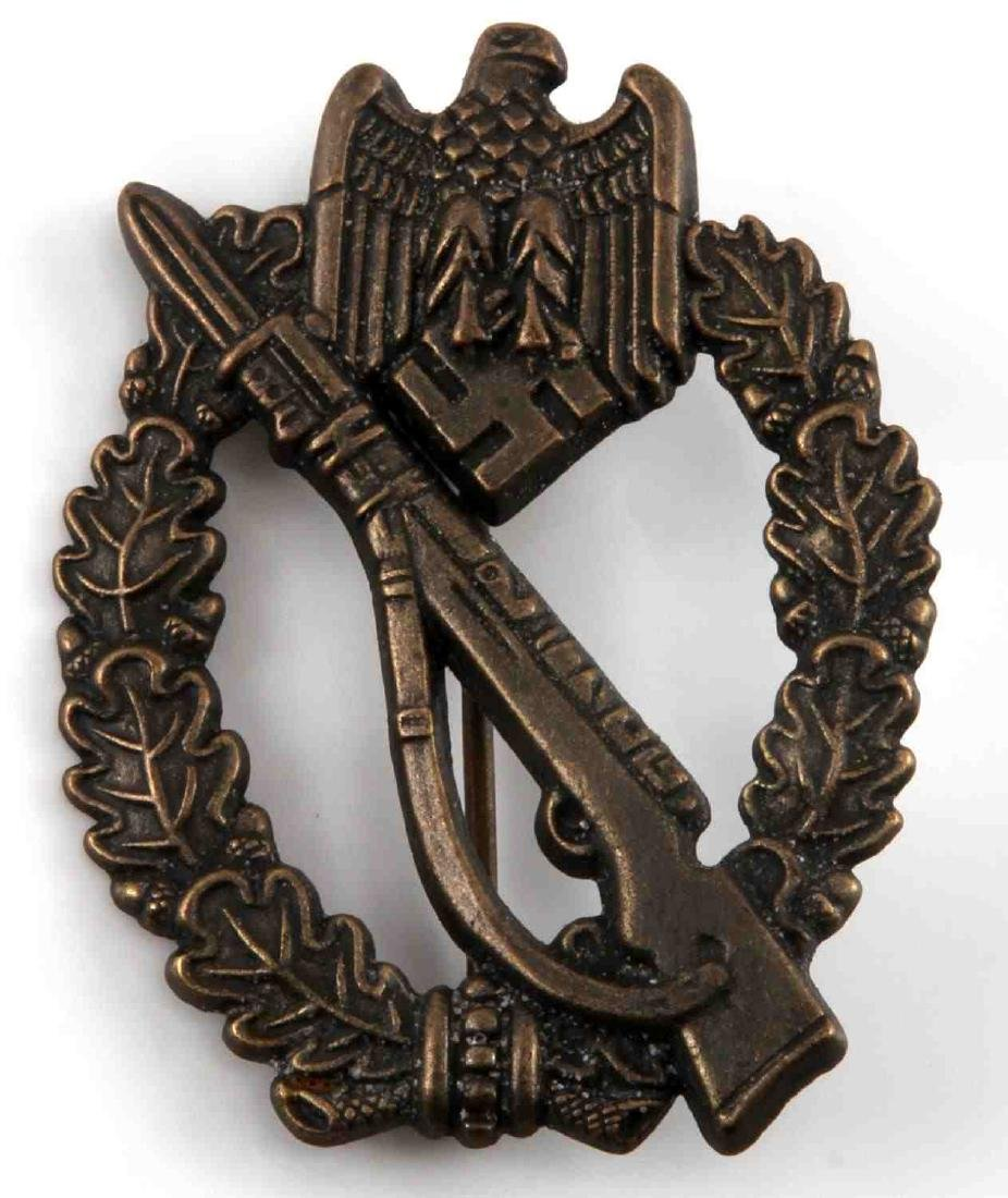 WWII GERMAN 3RD REICH ARMY INFANTRY ASSAULT BADGE