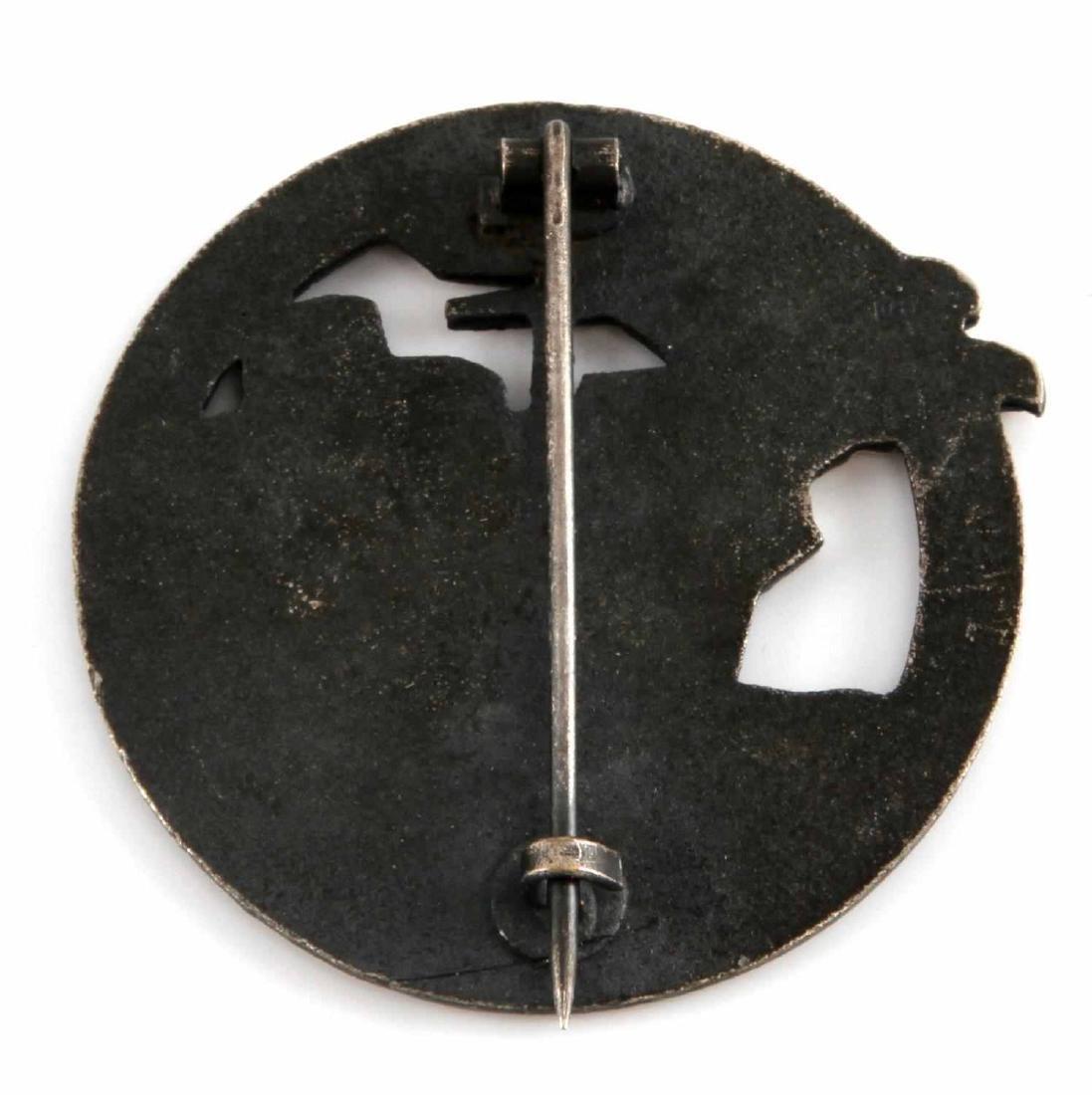 WWII THIRD REICH GERMAN BLOCKADE BREAKER BADGE - 2