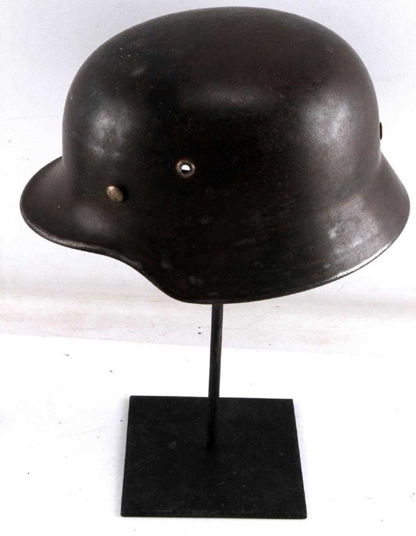 WWII GERMAN THIRD REICH M1935 HELMET SHELL - 2
