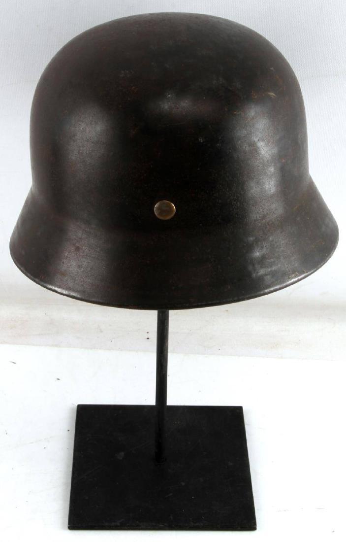 WWII GERMAN THIRD REICH M1935 HELMET SHELL - 3