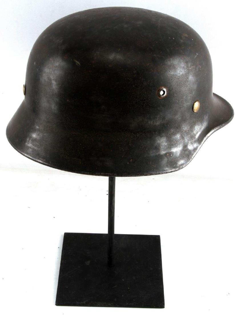 WWII GERMAN THIRD REICH M1935 HELMET SHELL - 4