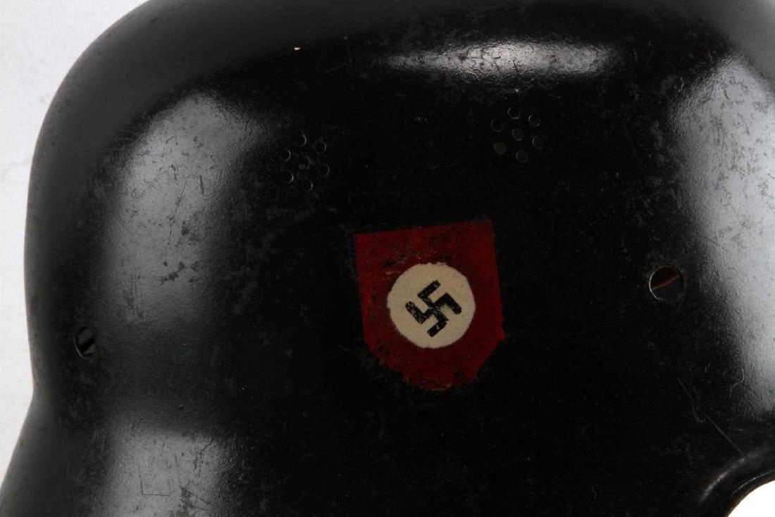 WWII GERMAN THIRD REICH POLICE HELMET - 2