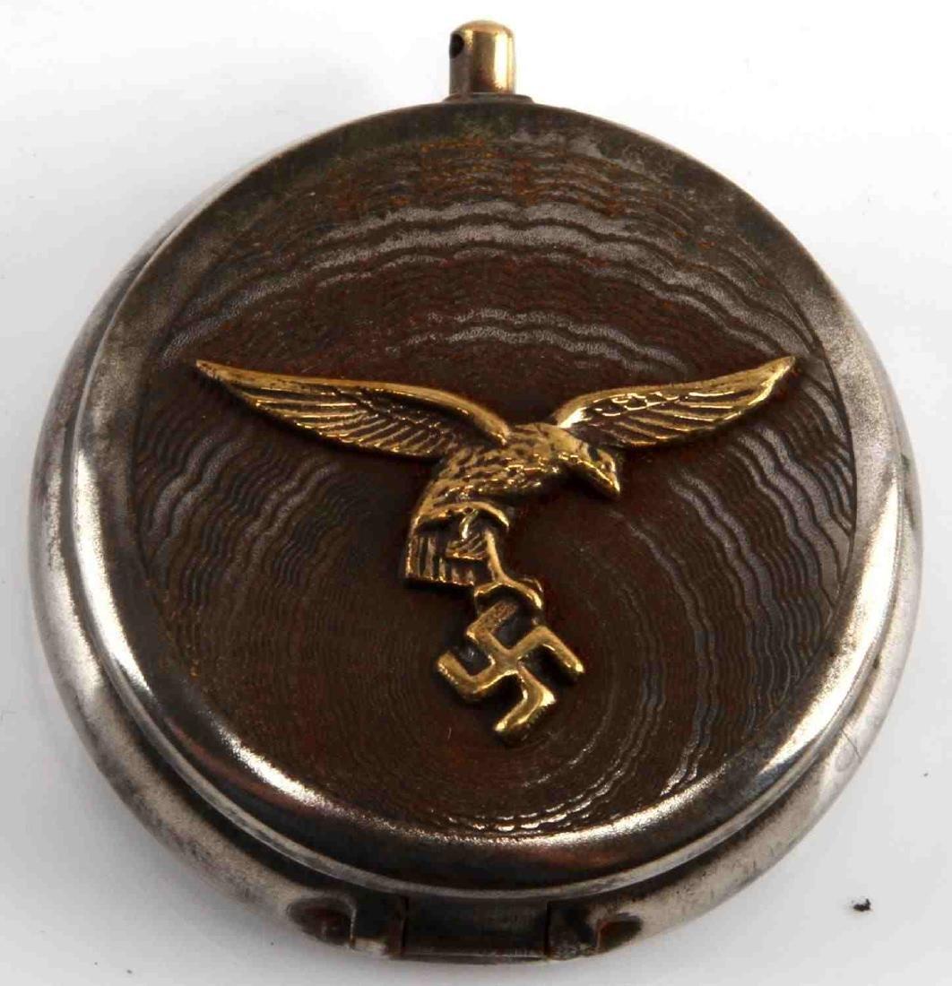 GERMAN WWII LUFTWAFFE PILOT POCKET ASHTRAY