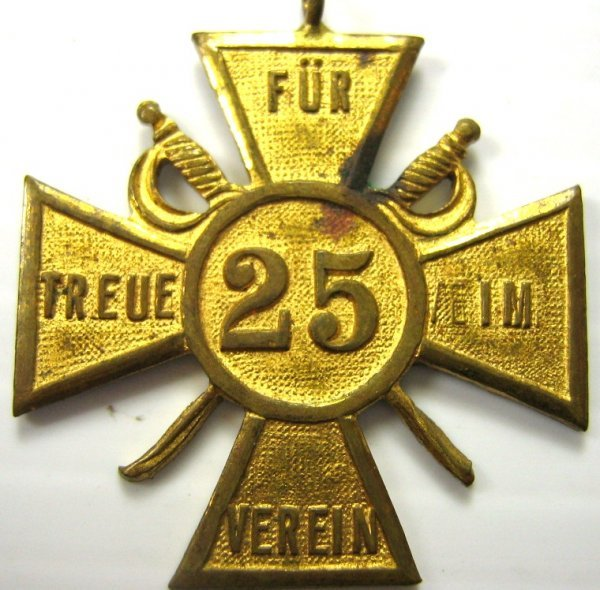 WWI GERMAN IRON CROSS WATCH FOB JEWELRY 3 ITEMS - 6