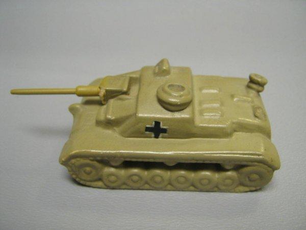 RARE GOEBEL HUMMEL WWII GERMAN CERAMIC TANK MODEL - 3