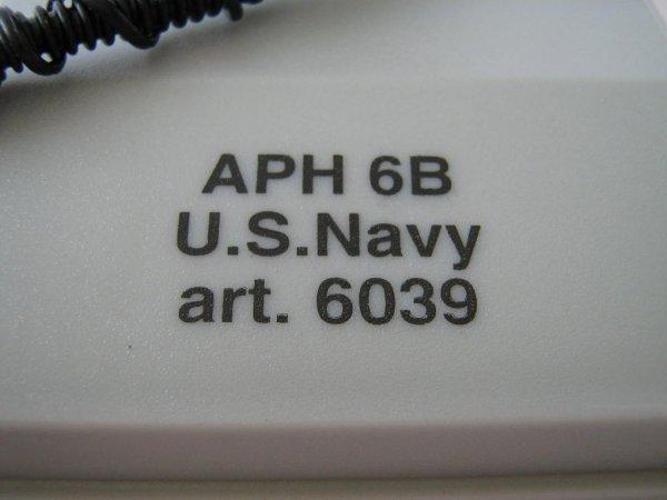US NAVY LOT 1:8 APH 6B HELMET ID MODEL ROTA SPAIN - 3