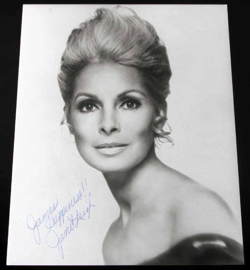 JANET LEIGH HITCHCOCK PSYCHO STAR AUTOGRAPH