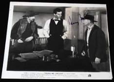 HENRY FONDA BELOVED FAMOUS FILM ACTOR AUTOGRAPH