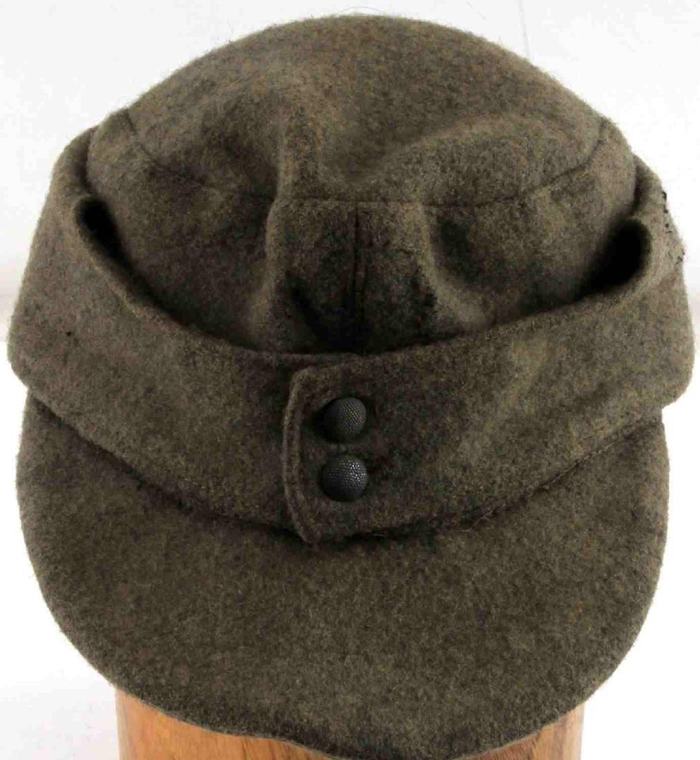 WWII GERMAN THIRD REICH WOOL SS M43 FIELD CAP