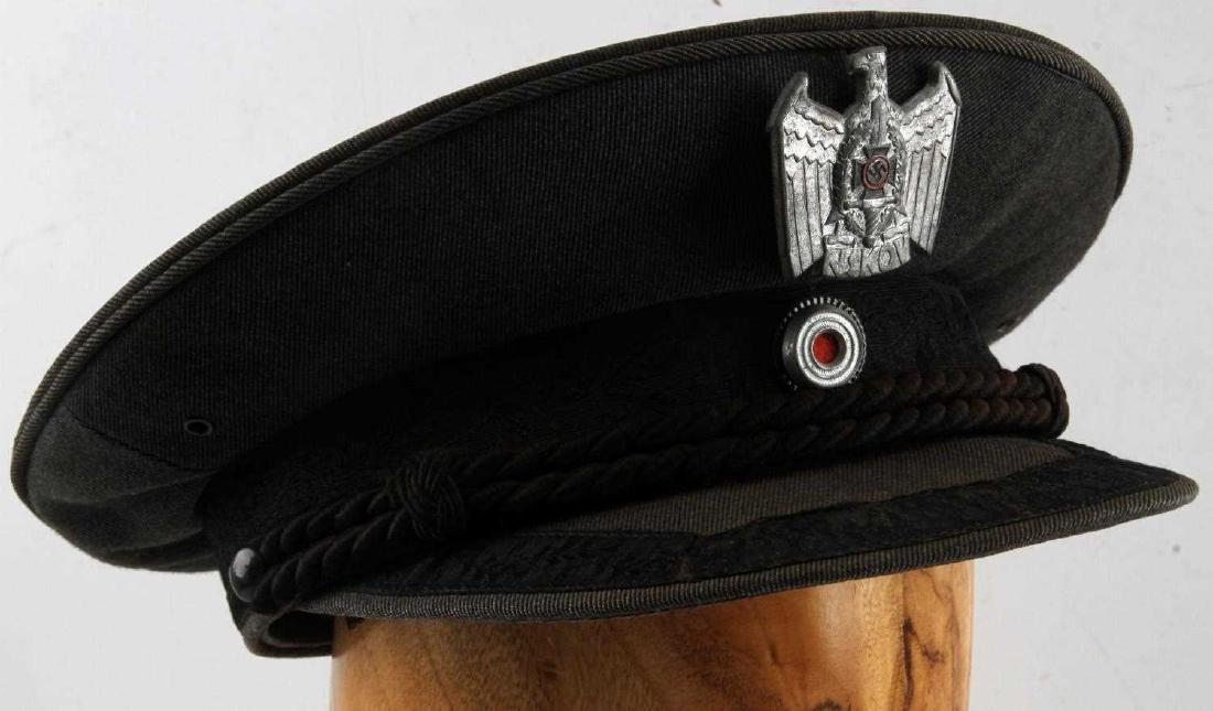 WWII GERMAN THIRD REICH NSKOV VISOR CAP
