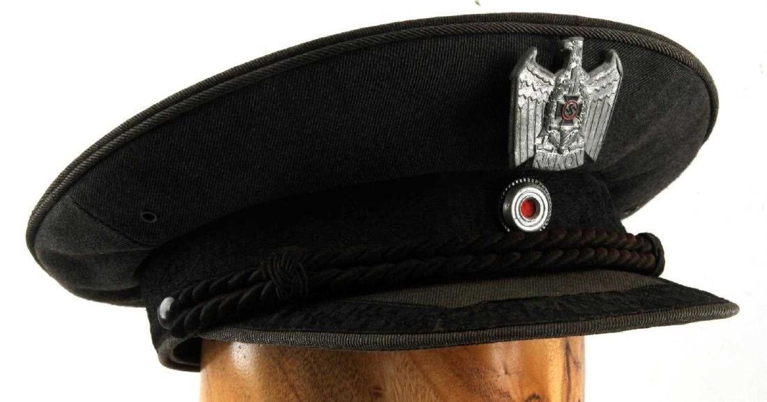 WWII GERMAN THIRD REICH NSKOV VISOR CAP - 3