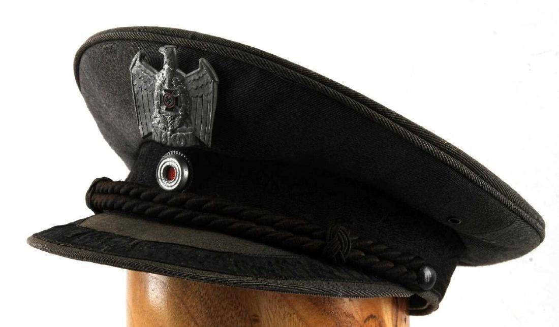 WWII GERMAN THIRD REICH NSKOV VISOR CAP - 4