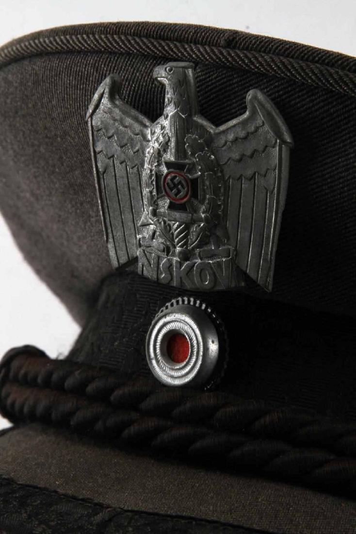 WWII GERMAN THIRD REICH NSKOV VISOR CAP - 5