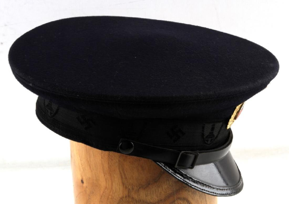 WWII GERMAN THIRD REICH VETERAN ASSOCIATION CAP - 5