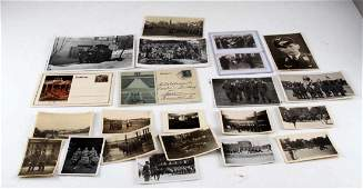 WWII GERMAN THIRD REICH PHOTO POSTCARD LOT PANZER