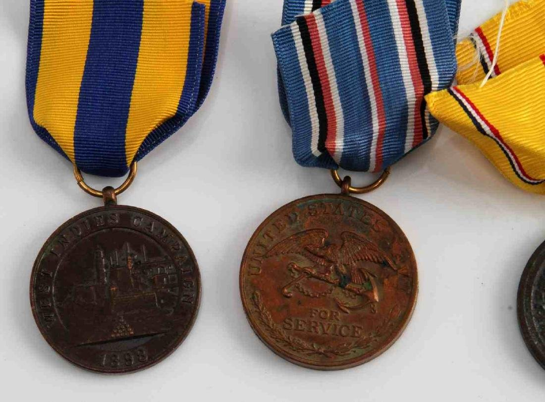 US PRE WWI MILITARY CAMPAIGN MEDAL LOT OF 4 - 2