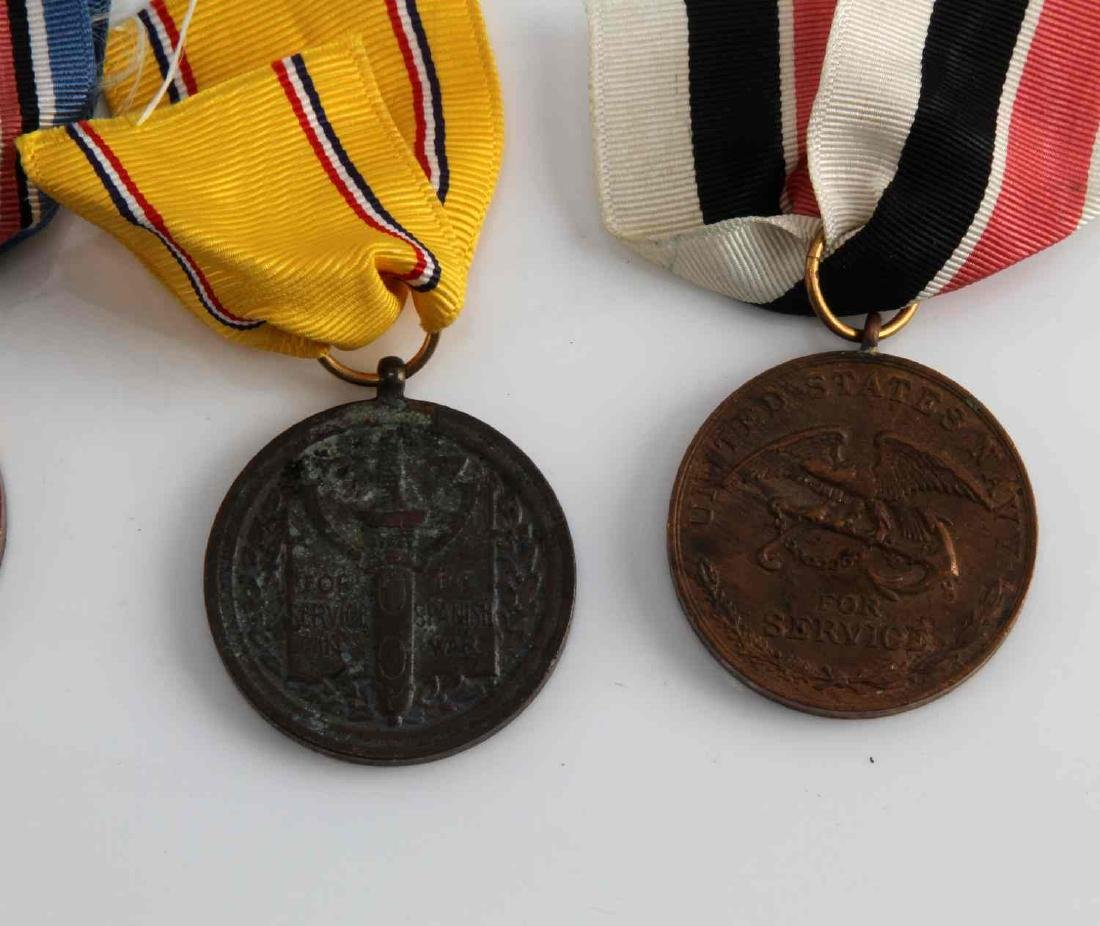 US PRE WWI MILITARY CAMPAIGN MEDAL LOT OF 4 - 3