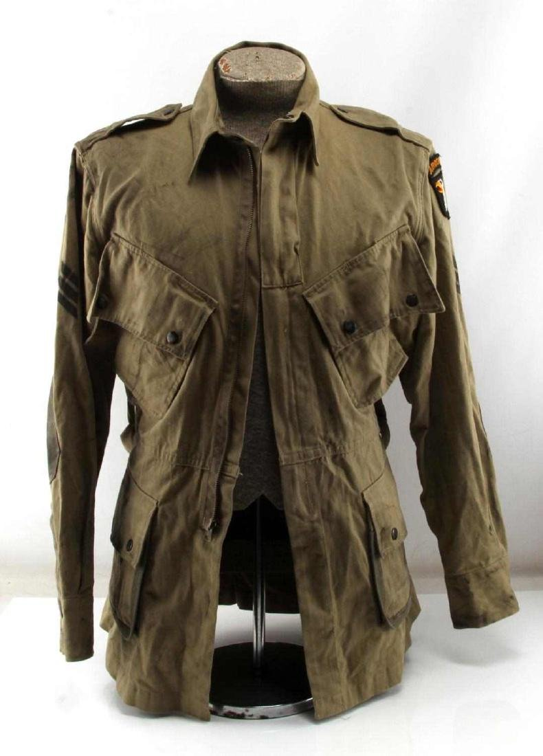 US WWII ARMY 101ST AIRBORNE PARATROOPER M42 JACKET