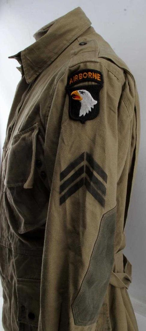 US WWII ARMY 101ST AIRBORNE PARATROOPER M42 JACKET - 2