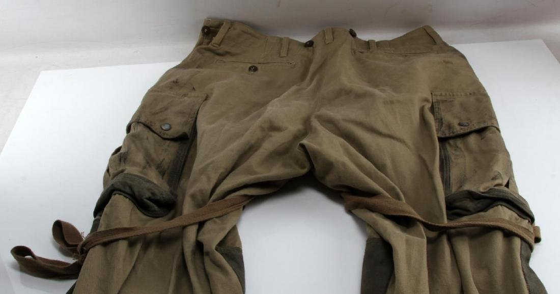 US WWII ARMY 101ST AIRBORNE PARATROOPER M42 PANTS - 3