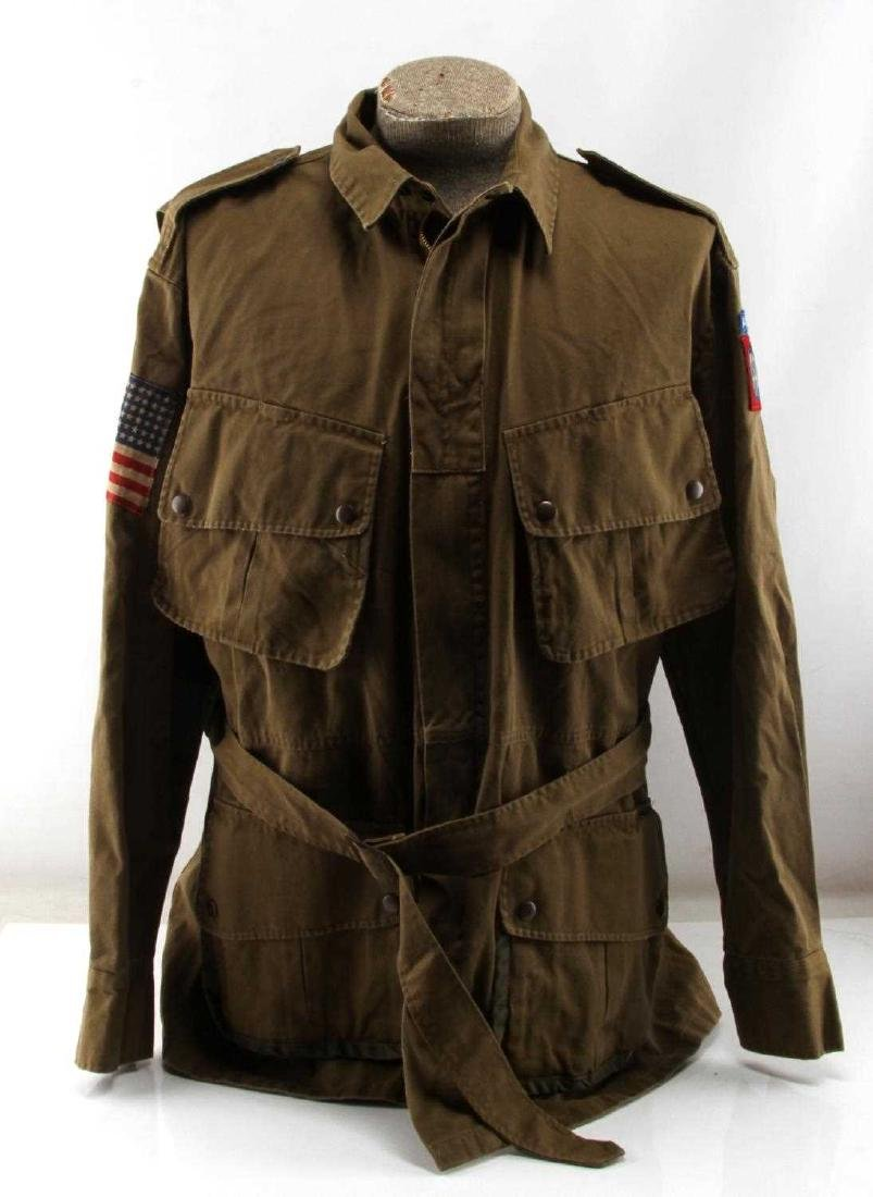WWII US ARMY 82ND AIRBORNE PARATROOPER M-42 JACKET