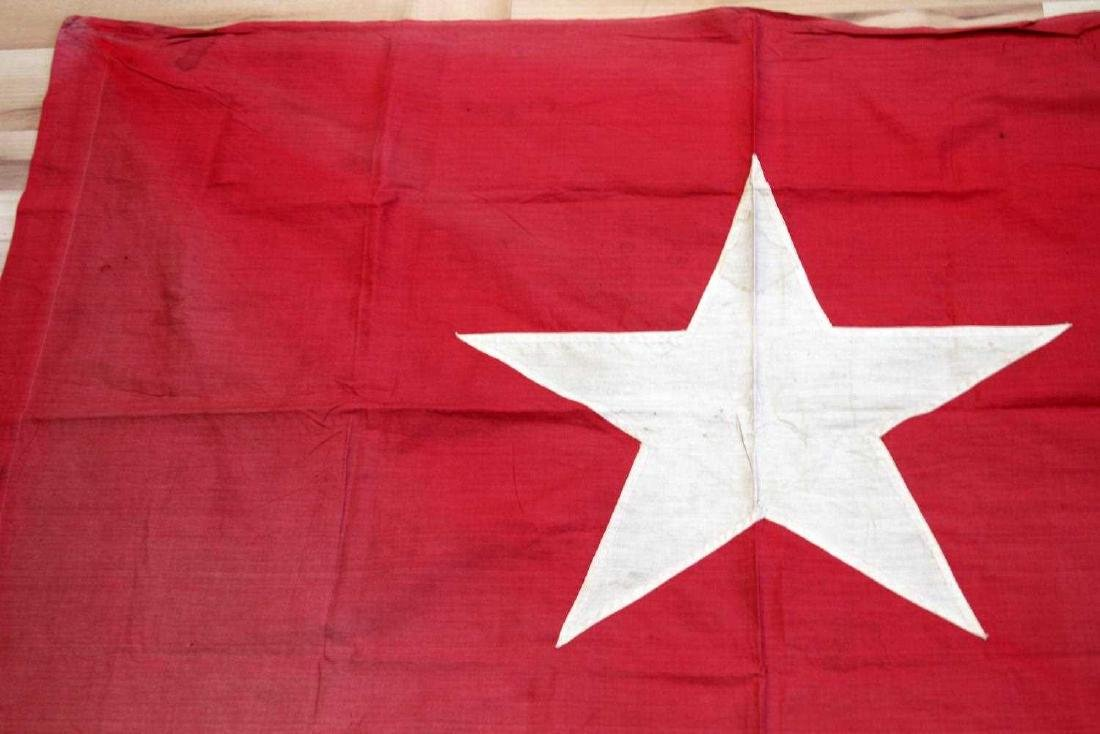 VIETNAM ERA NORTH VIETNAMESE ARMY NVA BATTLE FLAG - 2