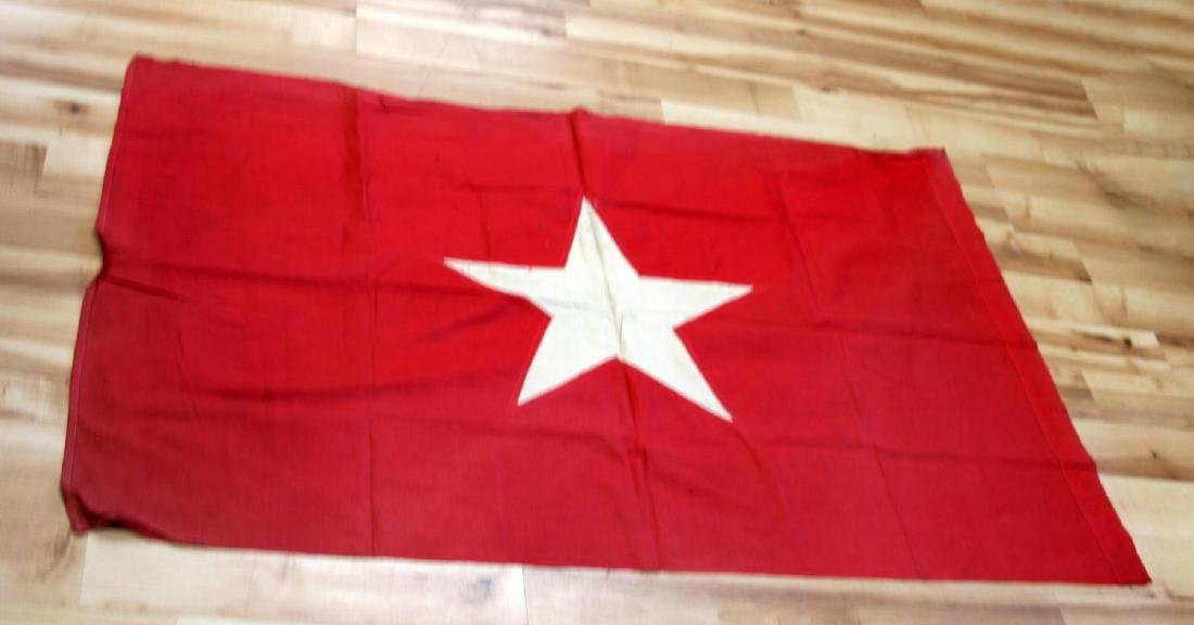 VIETNAM ERA NORTH VIETNAMESE ARMY NVA BATTLE FLAG - 3