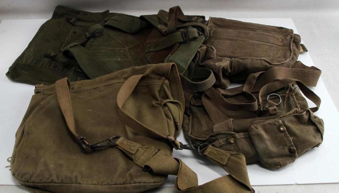 US WWII KOREAN WAR ERA COMBAT BACK PACK LOT OF 4 - 3