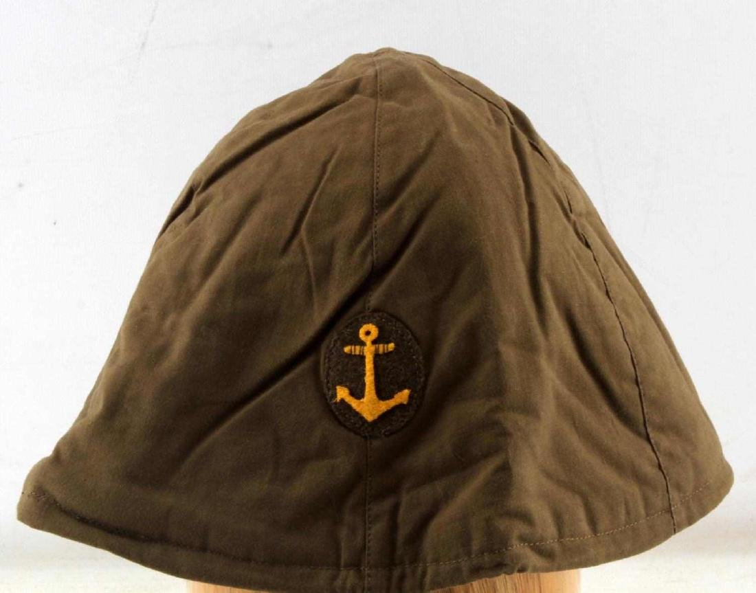 JAPANESE WWII NAVY COMBAT CLOTH HELMET COVER