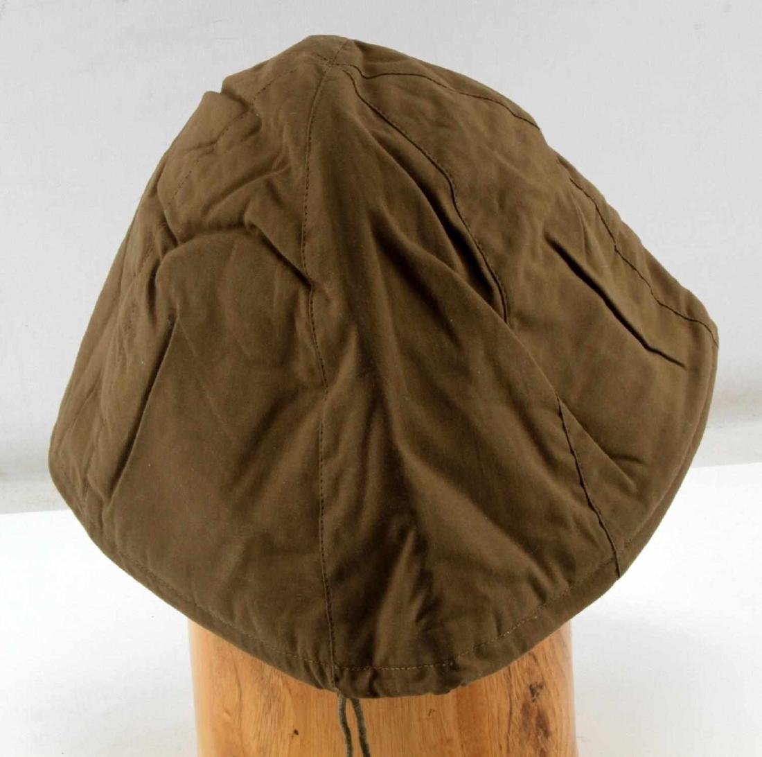 JAPANESE WWII NAVY COMBAT CLOTH HELMET COVER - 4