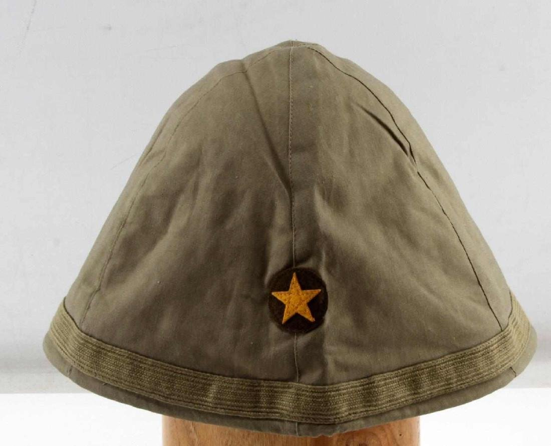 JAPANESE WWII ARMY COMBAT CLOTH HELMET COVER