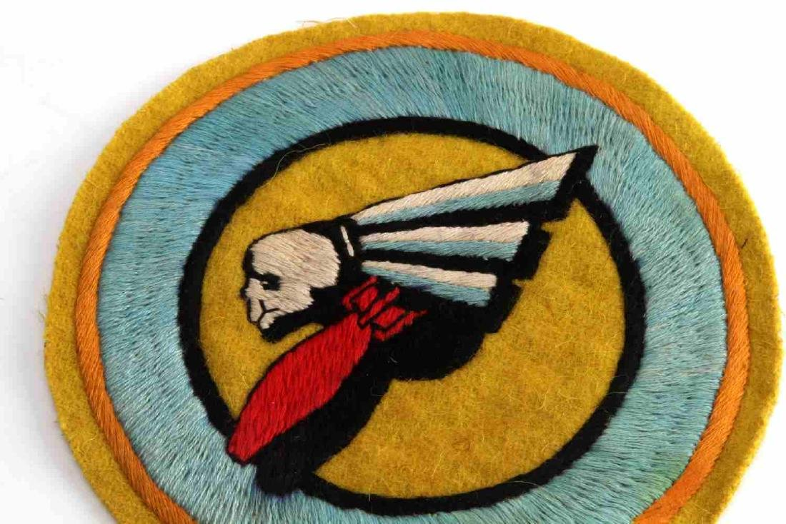 USAAF WWII ARMY AIR FORCE BOMB SQUADRON PATCH - 2