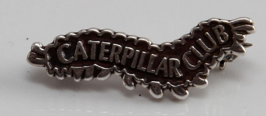 WWII ARMY AIR FORCE SWITLIK CATEPILLAR CLUB PIN
